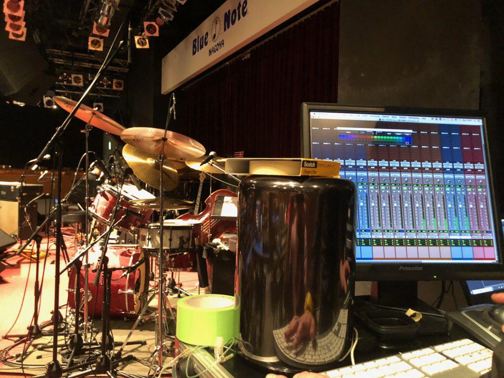 佐藤竹善 with The Jazz Creatures Your Christmas Night 2018 ブルーノート名古屋公演でのフルハウスのレコーディングシステム