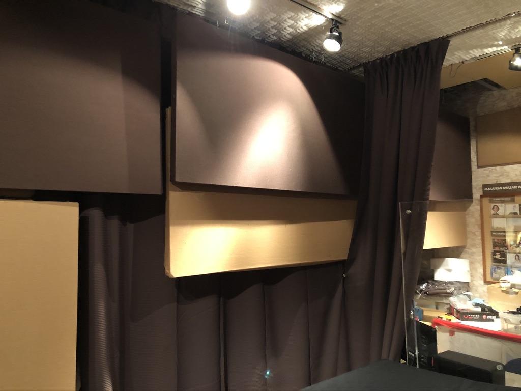 フルハウスでDIYで設置したオリジナル吸音反射板