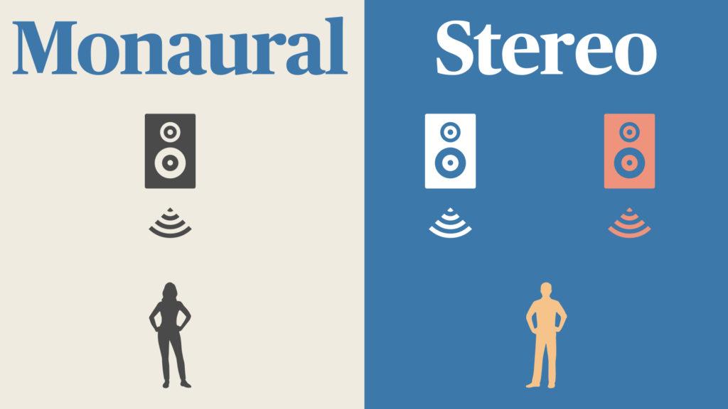 モノラルとステレオの聴く時の違い