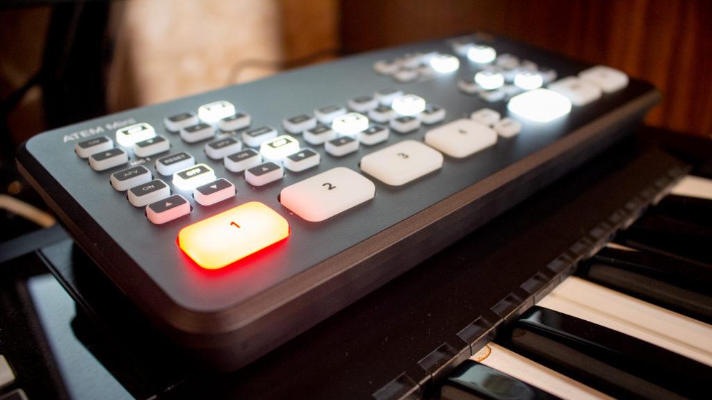 スタジオフルハウスで導入したATEM mini