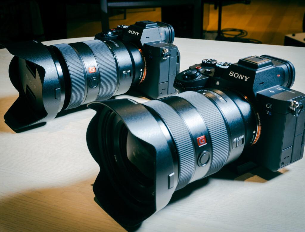 フルハウスで導入した2台のSONYミラーレスカメラ「α7s III」