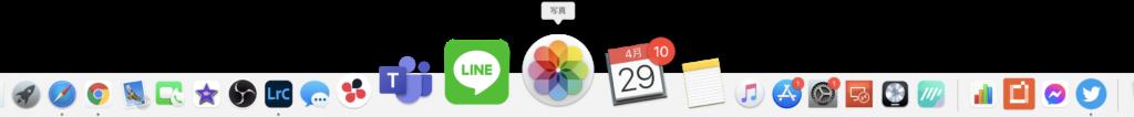 Mac OS の Dock