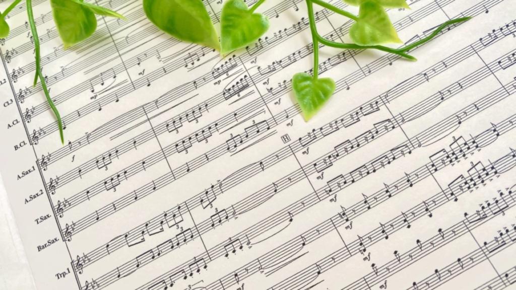 楽譜 編曲 score